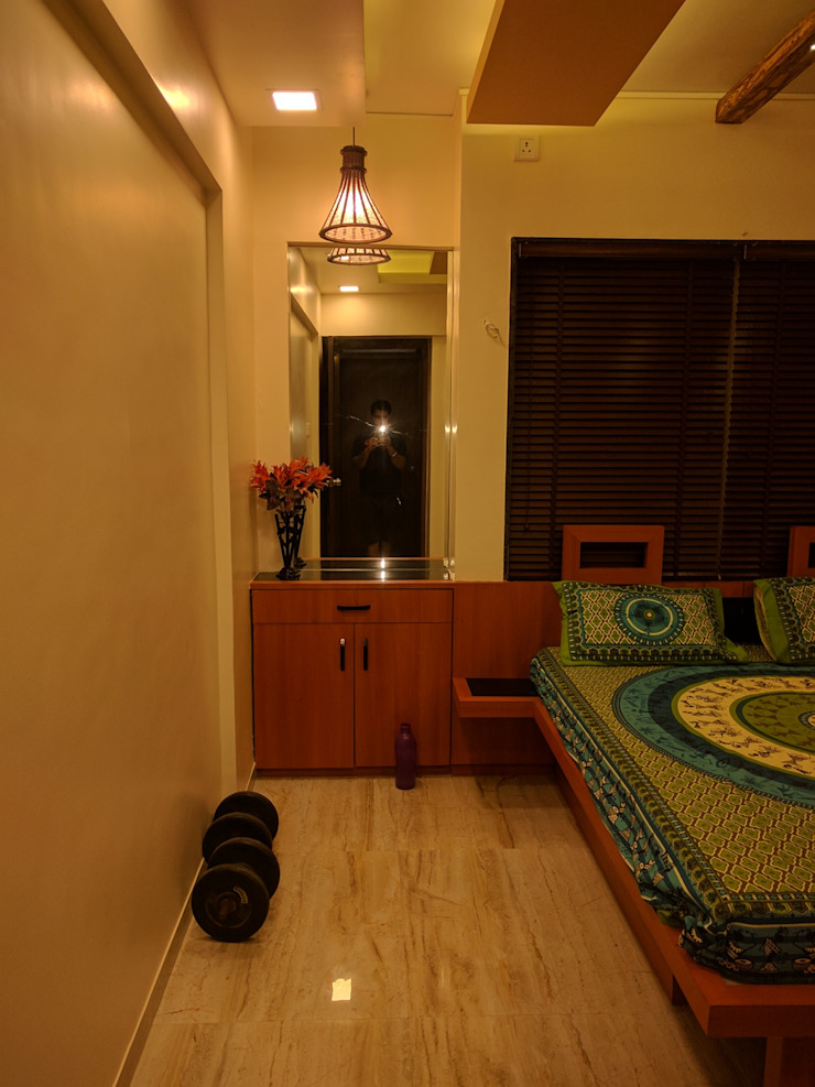 Interior Modern style bedroom by Dusnaam designs Modern