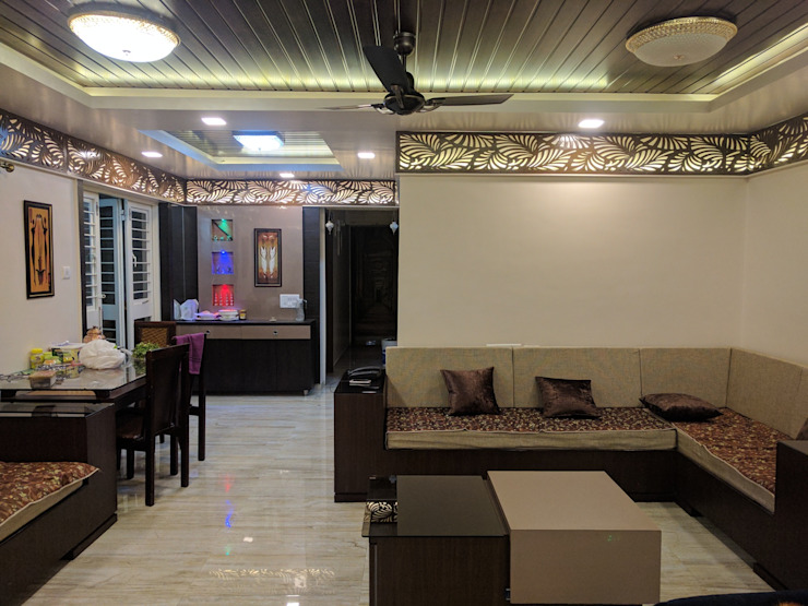 Interior Modern living room by Dusnaam designs Modern