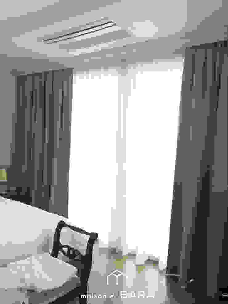 중구 이안 엑소디움 모던스타일 침실 by maison el BARA (메종엘바라) 모던
