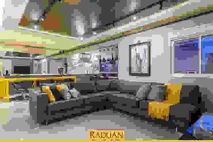 Sala de Estar Raduan Arquitetura e Interiores Salas de estar modernas