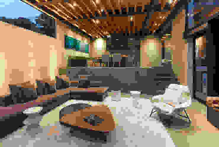 Salas / recibidores de estilo  por grupoarquitectura, Moderno