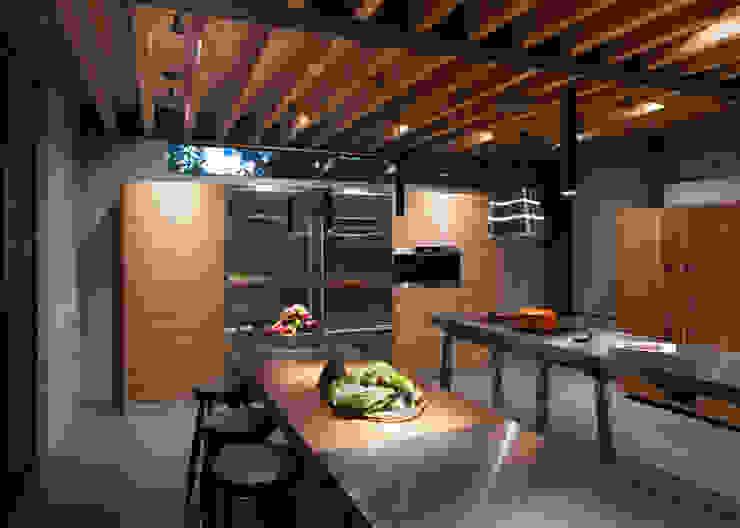 La Casa en el Bosque Cocinas modernas de grupoarquitectura Moderno