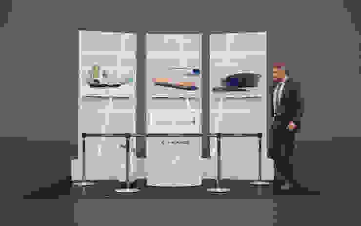 Modulo de Presentacion en Chile de LEXUS HOVERBOARD de RENDER STUDIO