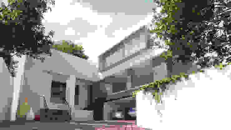 Vivienda Valle San Angel by Diez y Nueve Grados Arquitectos