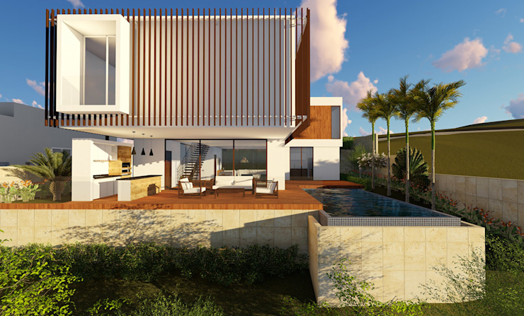ARQUITETURA RESIDENCIAL ITUPEVA VILLAGE MORRO ALTO Aresto Arquitetura Casas modernas