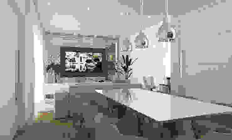 Dining room by Aresto Arquitetura, Minimalist