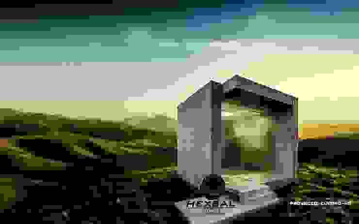 Modern spa by HEXSAL ARQUITECTOS Modern Concrete
