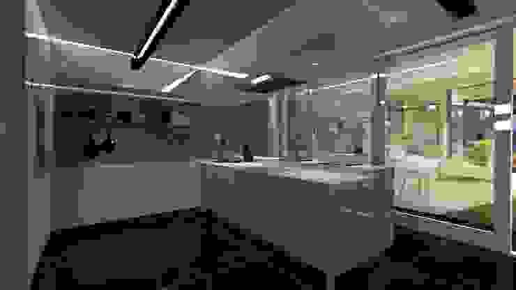 Cocina Minimalista Cocinas de estilo minimalista de Diseño de Locales Minimalista