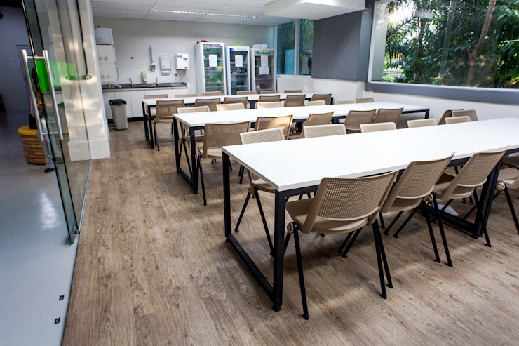 VERONA CARPETES E VINILICOS Modern commercial spaces Wood effect