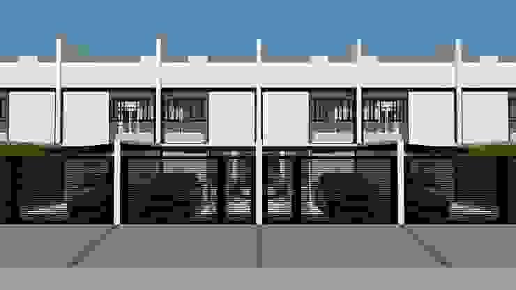 現代房屋設計點子、靈感 & 圖片 根據 Studio Escala Arquitetura e Interiores 現代風