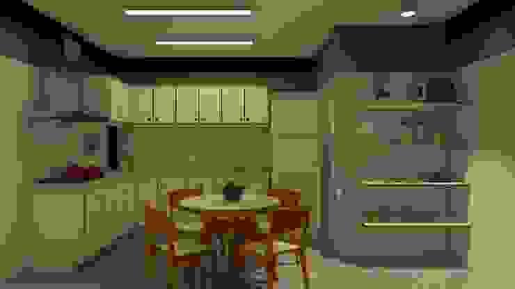 現代廚房設計點子、靈感&圖片 根據 Studio Escala Arquitetura e Interiores 現代風