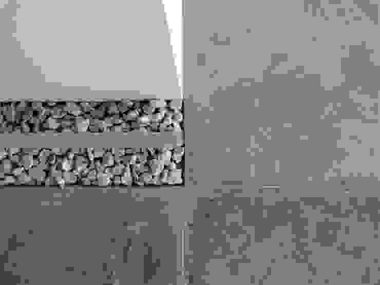 Apartamento de Playa RRA Arquitectura Cocinas de estilo minimalista Concreto Gris