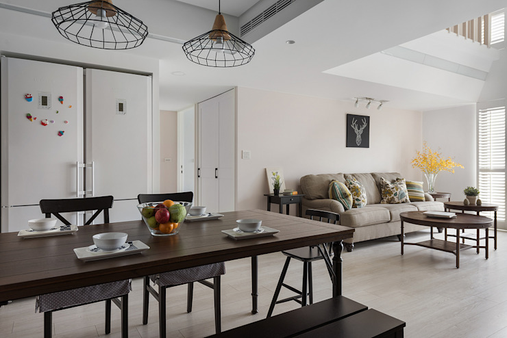 Classic style dining room by 倍果設計有限公司 Classic