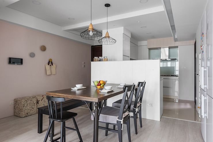 倍果設計有限公司 Classic style dining room