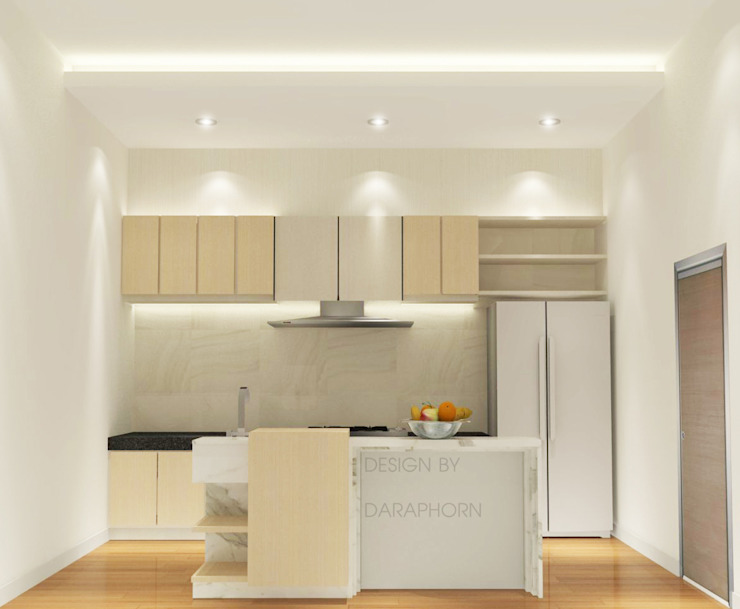 Kitchen 3D Design #10:  ห้องครัว by SIAMTAK CO., LTD.