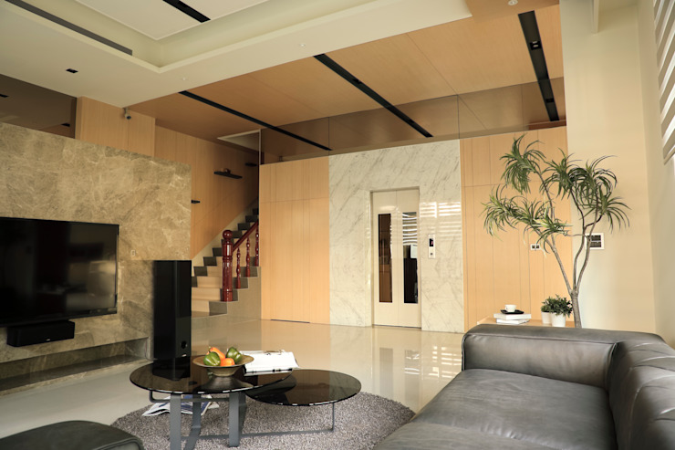 Casas de estilo minimalista de 舍子美學設計有限公司 Minimalista
