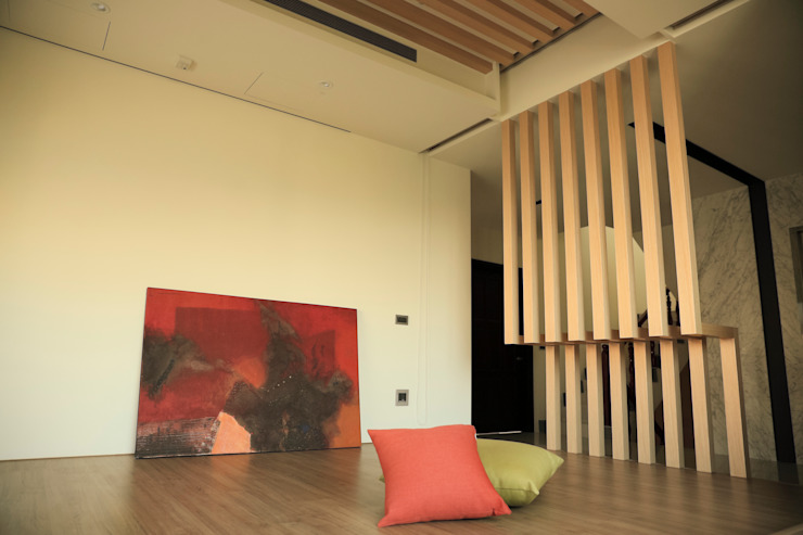ミニマルスタイルな 壁&床 の 舍子美學設計有限公司 ミニマル