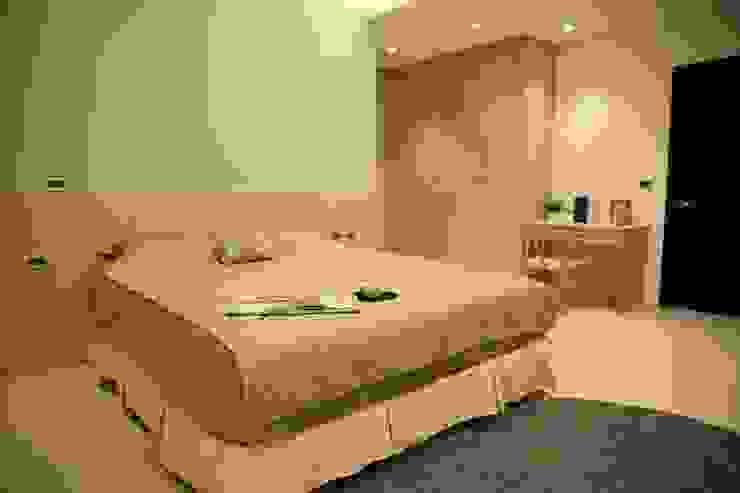 ミニマルスタイルの 寝室 の 舍子美學設計有限公司 ミニマル