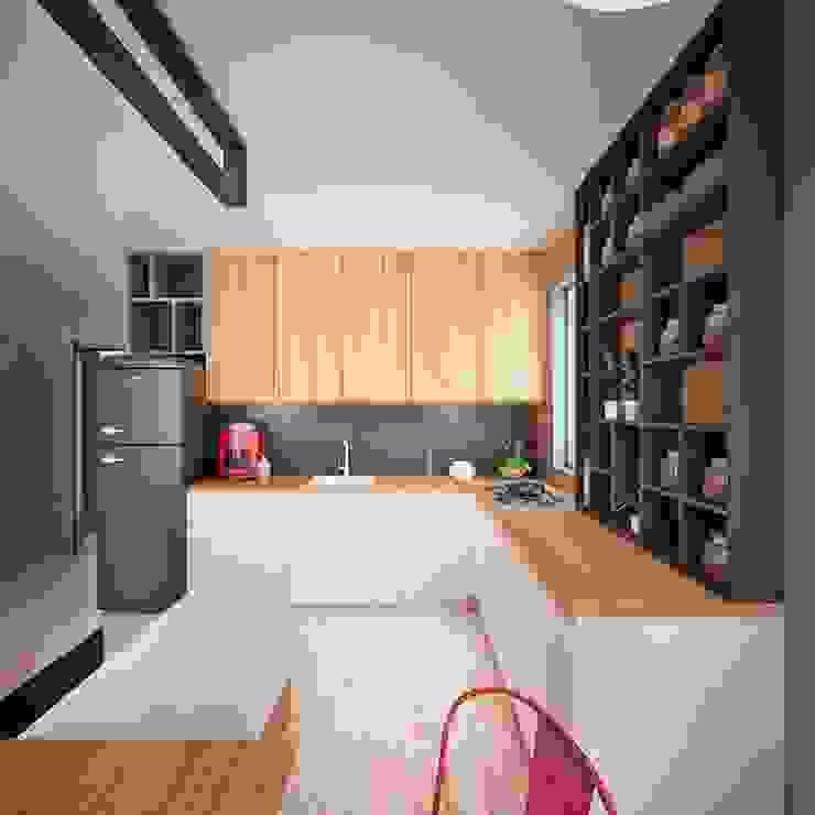 Hang Hau Residential Project Modern living room by CLOUD9 DESIGN Modern