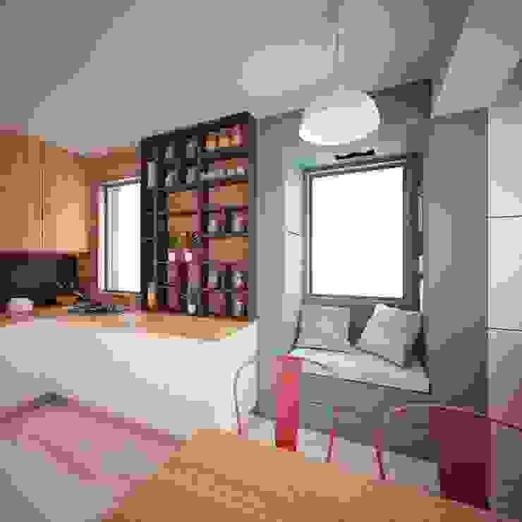 Cocinas de estilo moderno de CLOUD9 DESIGN Moderno