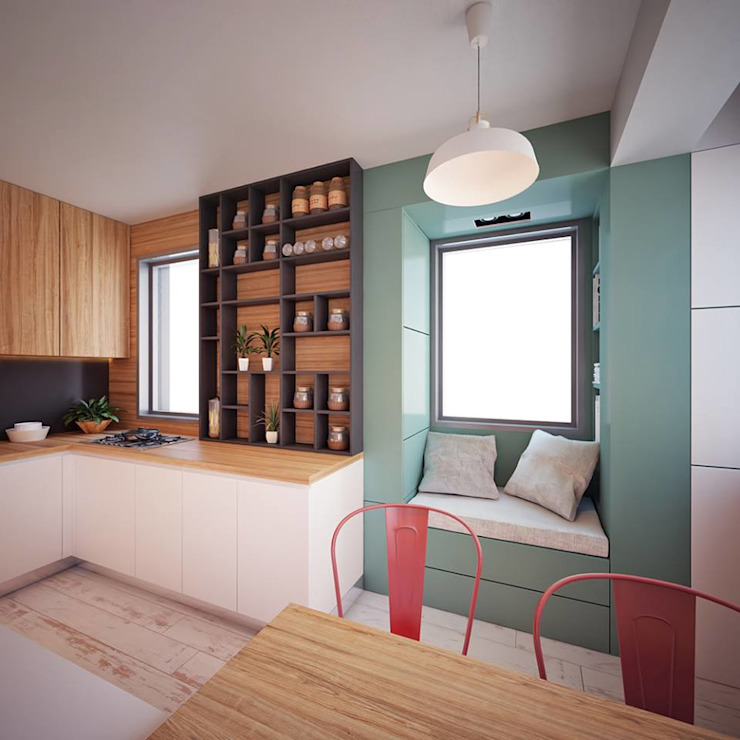 Hang Hau Residential Project Modern kitchen by CLOUD9 DESIGN Modern