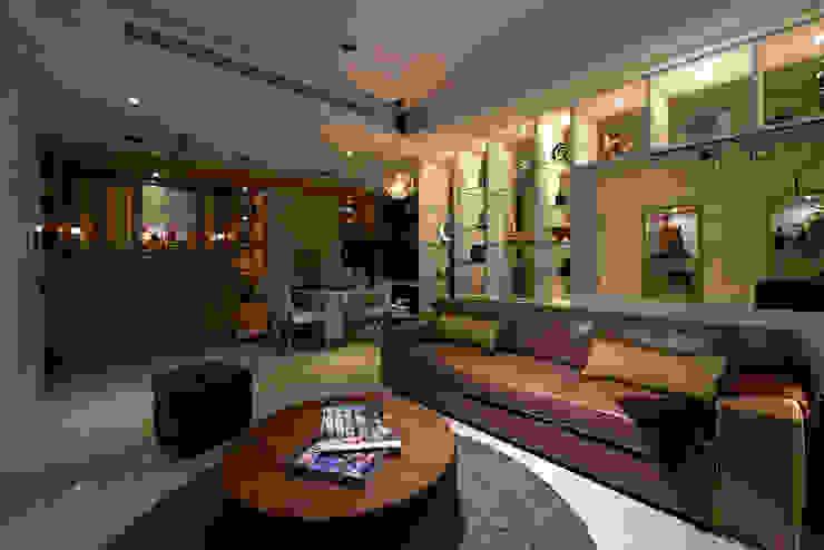 Living room by 舍子美學設計有限公司, Minimalist