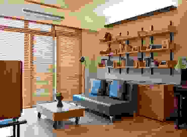 Living room by 直方設計有限公司, Minimalist