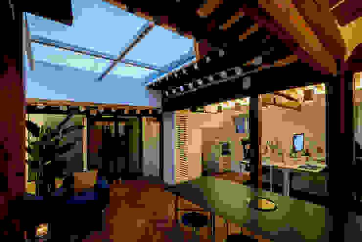PDR OFFICE 한옥 사무실 by 쿠나도시건축연구소 모던