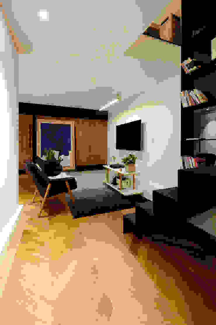 PDR OFFICE 한옥 사무실 모던 스타일 바 & 클럽 by 쿠나도시건축연구소 모던