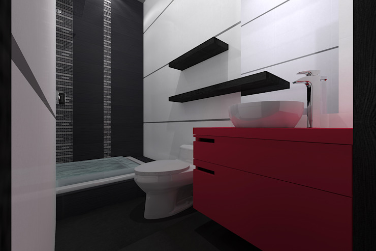 Bathroom by homify, Minimalist سرامک