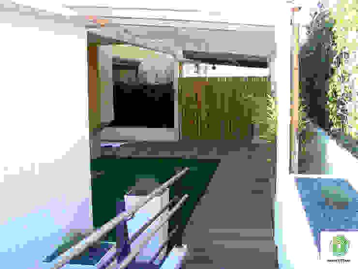 Giardini Pavin Cesare Balkon, Beranda & Teras Modern