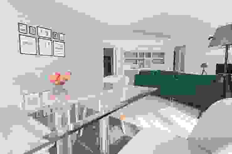 eM diseño de interiores Modern Living Room