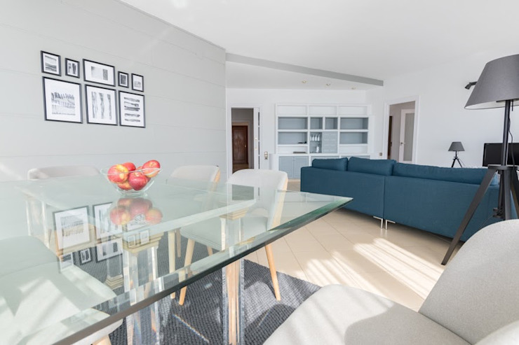 Modern living room by eM diseño de interiores Modern