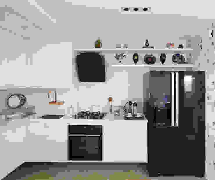 クラシックデザインの キッチン の homify クラシック