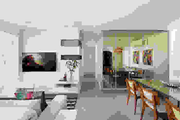 Apartamento Tatuapé - SP homify Salas de jantar modernas