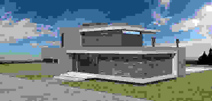 Casa en El Vergel Casas modernas: Ideas, imágenes y decoración de Allende/Cetrari Moderno Plástico