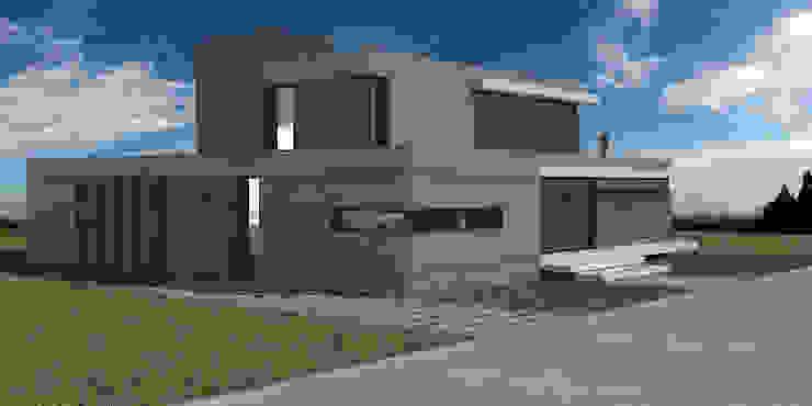 Casa en El Vergel Casas modernas: Ideas, imágenes y decoración de Allende/Cetrari Moderno Piedra