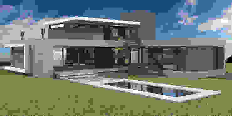 Casa en El Vergel Casas modernas: Ideas, imágenes y decoración de Allende/Cetrari Moderno Vidrio