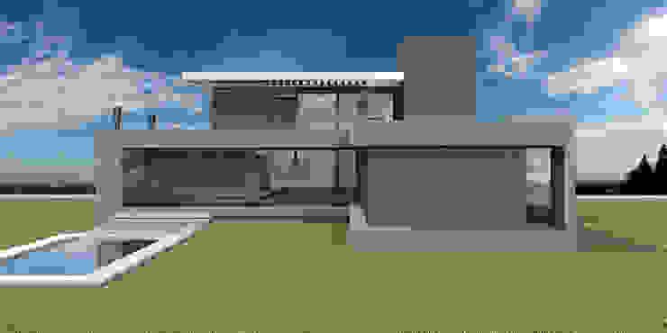 Casa en El Vergel Casas modernas: Ideas, imágenes y decoración de Allende/Cetrari Moderno Madera Acabado en madera