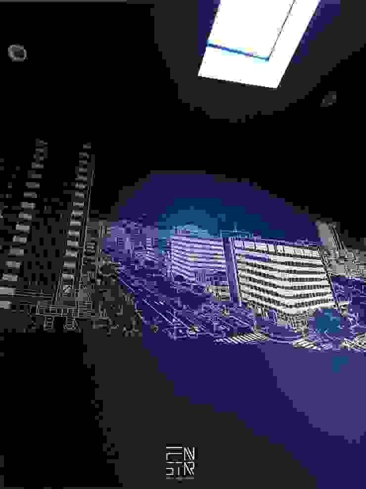 黑色基地 根據 釩星空間設計 工業風