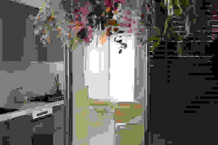 來我家吧! 現代廚房設計點子、靈感&圖片 根據 釩星空間設計 現代風