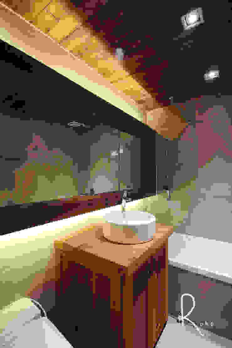 거실 욕실 러스틱스타일 욕실 by 로하디자인 러스틱 (Rustic)