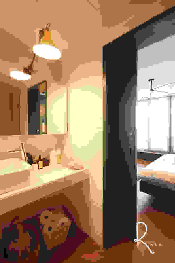 안방 욕실 컨트리스타일 욕실 by 로하디자인 컨트리
