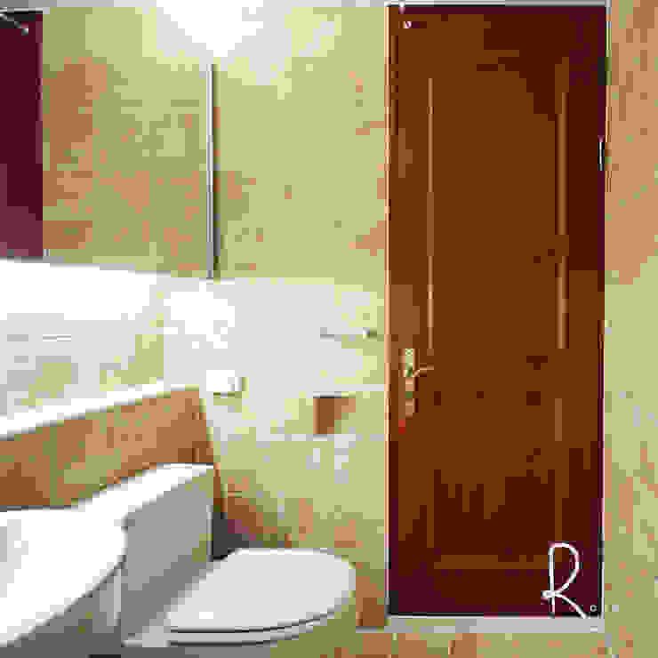 거실 욕실 클래식스타일 욕실 by 로하디자인 클래식