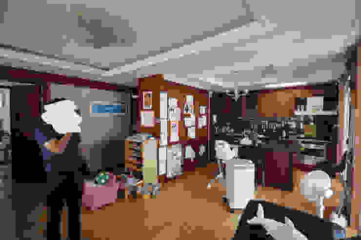 공사 전 거실 / 주방: 로하디자인의 클래식 ,클래식