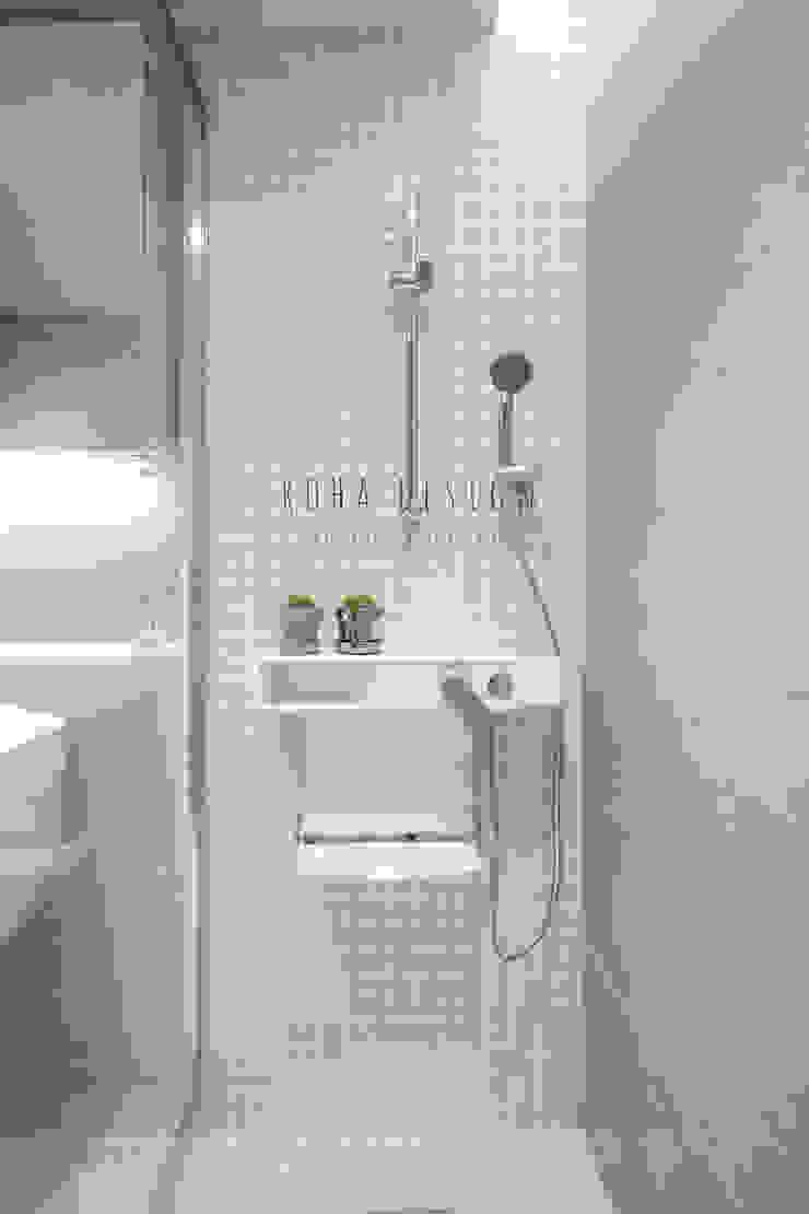 거실 욕실 컨트리스타일 욕실 by 로하디자인 컨트리
