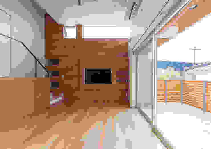 bởi 中村建築研究室 エヌラボ(n-lab) Hiện đại Gỗ Wood effect
