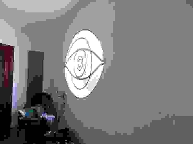 Studio di Progettazione Arch. Tiziana Franchina Modern Corridor, Hallway and Staircase