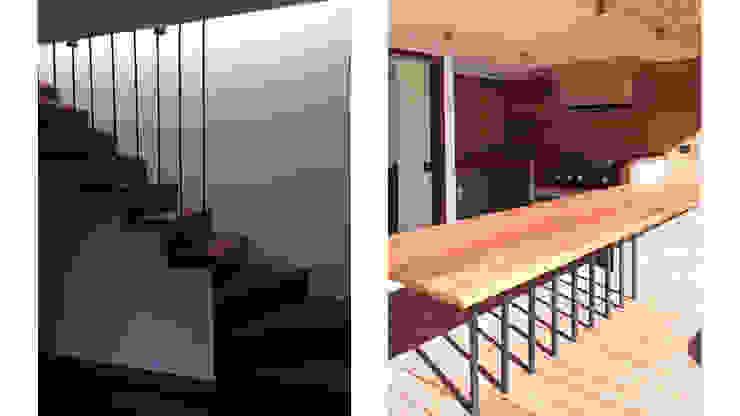 Penthouse Vitacura: Terrazas  de estilo  por NEF Arq.
