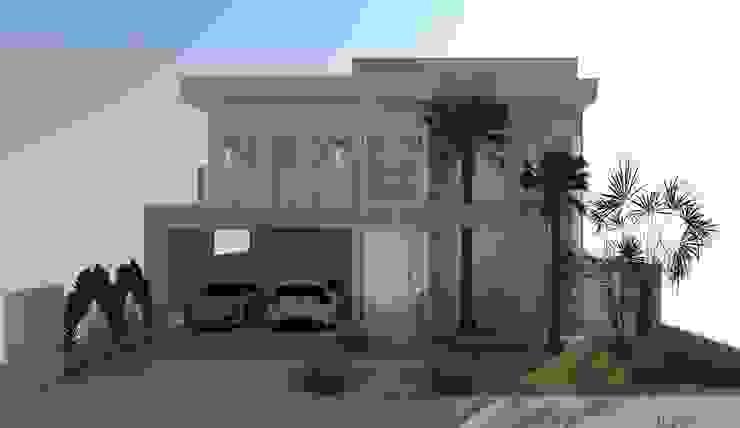 RESIDENCIA 01 Casas modernas por AJR ARQUITETURA Moderno